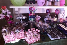 Our Customer Candy Buffets using our candies!