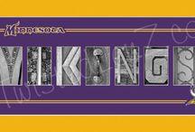 viking football / by Kathleen Katzartones Findley