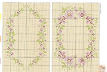 X-stitching/Ornament&vignette / cross stitch scheme
