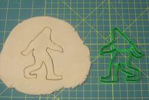 Bigfoot/Sasquatch Cookie Cutter / 3d printed cookie cutters