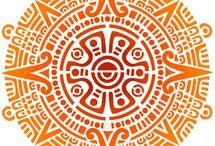 Aztec, Maya, Inca designs