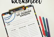 Free goal setting resources