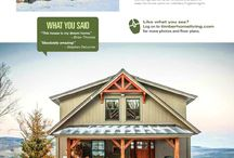 Timber Frame / Post and Beam / Moose Lodge post and beam plan by Yankee Barns