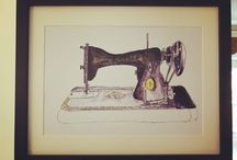 Sewing Illustrations