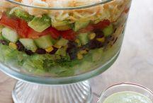 Salads - yum!