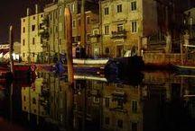 Chioggia / Paesaggio diurno e notturno, due fascini della stessa città
