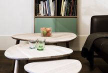 THE STRUM TABLES by Tomas Living Plus / Beautifully Designed Lounge Tables with Rock 'n' Roll Attitude...