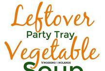 """Leftover"" recipes"