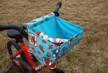 DIY Bike Accessories / tutorials on how to make cool bike accessories: baskets, doll seats, etc. / by Carla Guevara