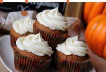 Pumpkin cupcakes from scratch