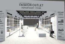 fashion outlet kiosk