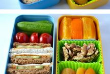 Gezonde / grappige lunch-box ideeën