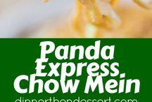 panda express recipes