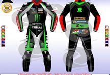 Monster Yamaha johann zarco leather suit style