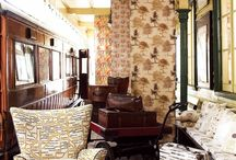 Wallpapers and Fabrics / As an Interior Designer I am always on the search for that something that will make my clients smile.  Wallpapers and fabrics are part of the foundation of an interior decoration scheme.
