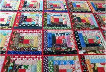 Quilts, Log Cabin