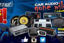 CAR AUDIO GONE WILD 2016 / This shows the images for our sale event.