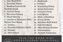 Bookstagram Challenges