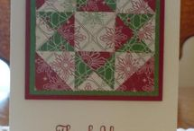 Craft: Cards-Quilt