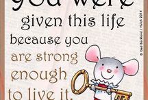 a prayers quote little mouse
