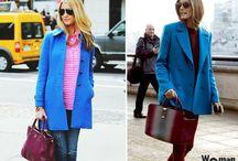 пальто сочетание цвета
