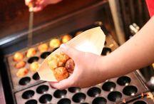 Japanese food: takoyaki