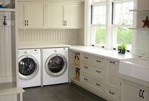 Combined Mud/Laundry / Combining your laundry and mudroom to make one great functional space