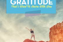 Gratitude / Gratitude affirmations, gratitude quotes, gratitude articles all reminders that a grateful you is living a happy life. Say Thank You.