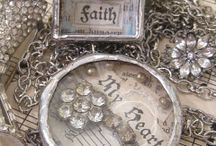 Soldered Charms / The vintage charm of soldered charms and jewelry pieces.  Love the antique look and things that can be made with these charming items.