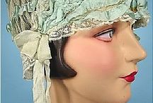 breakfast hat. circa 1920s.