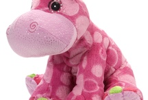 Sweet & Sassy / bright color patterned plush / by Wild Republic