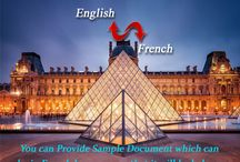 French Language Translation Services /  We believe in gaining trust from our clients. As a natural progression to this belief, We do free sample translations to the tune of approx 200 words to our new clients, for them to assess our experience and professionalism in the taken task.French Translation Service are available with low translation rates.