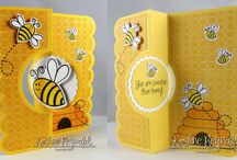 Honey bee  cards