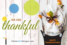 DIGITAL MARKETING IMAGES – THANKSGIVING EDITION / HAPPY THANKSGIVING! http://infinitewebdesigns.com/digital-marketing-images-thanksgiving-edition/  This Thanksgiving, we are grateful for all of our AMAZING CLIENTS.    Purchase Our Holiday Image Package & Receive Branded Images for the following holidays:  #NewYearsDay #ValentinesDay #StPatricksDay #MothersDay #MemorialDay #FathersDay #4thofJuly #LaborDay #Halloween #Thanksgiving #Christmas / #Holiday  Call us today…  203.307.5107  #socialmediamarketing #digitalmarketingimages #iwd