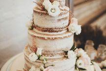 Esküvői csupasz torták