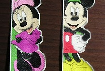 minnie mouse plastic canvas