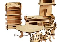 Детский деревянный конструктор / О детских развивающих конструкторах из дерева