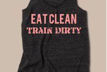 Workout shirts / by adriana B.