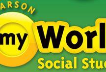 myWorld / by Pearson Social Studies