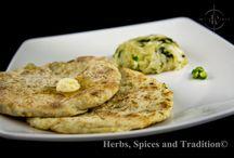 Tandoori Naan / Stuffed with potatoes and onion
