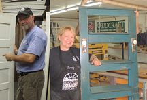 Demo Days at Woodcraft Stores / Every 3rd Saturday of the month, all Woodcraft stores feature a FREE special woodworking demonstration.  Look for a preview in your monthly tab mailer. Learn, create, enjoy, inspire! / by Woodcraft