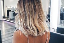 LOB BLOND HAIR 2017