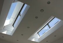 Frameless Roof Lights and Vents / a collection of images of our structural glazing being used as roof lights