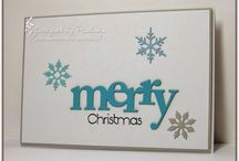 My Creations - Christmas / My Christmas Cards