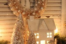 A White Christmas / Holiday pretties and home decor delight when decked in shades of white.  / by Lynn Minter
