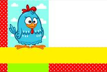 convites galinha pintadinha