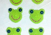 frog motif