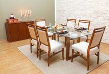 Sala de Jantar   Toque a Campainha / Procurando móveis para Sala de Jantar? Aproveite para deixar a casa mais bonita para receber os amigos e familiares. Veja mais produtos no link: http://goo.gl/ueFES9