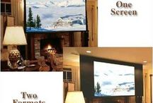 Electronics - Projection Screens