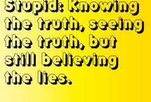 truth / by Robin Newell